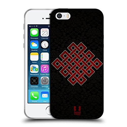Head Case Designs Keltischen Knoten Symbolism Soft Gel Hülle für Apple iPhone 6 / 6s Endloser Knoten