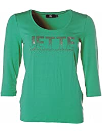 Jette Damen Shirt Strass Glitzer 3/4-Arm