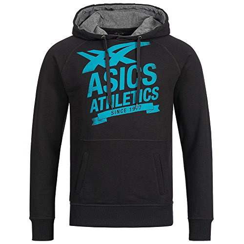 Asics Logo FZ Sweatjacke Performance Black - schwarz