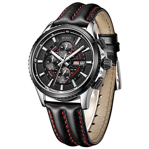BUREI -  -Armbanduhr- AG-FBA-SM-17003-3577EY (Farbe änderung Saphir)
