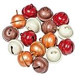VBS 16 Deko-Schellen farbig 18mm Metall-Schellen Weihnachts-Deko