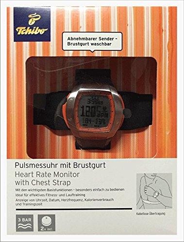 Herzfrequenz-monitor Sender (TCM Tchibo Pulsmessuhr mit Brustgurt Heard Rate Monitor)