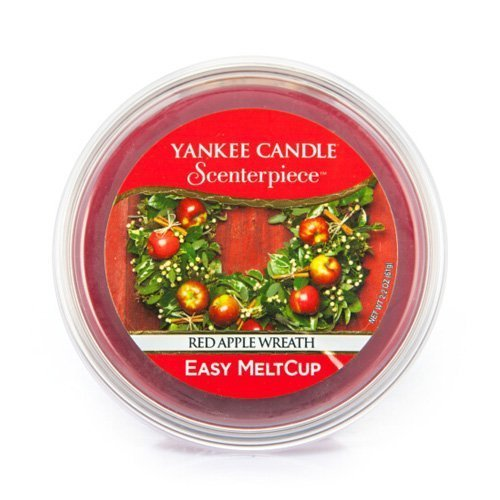 ple Wreath Melt Cup by Yankee Candle (Yankee Candle Red Apple Wreath)