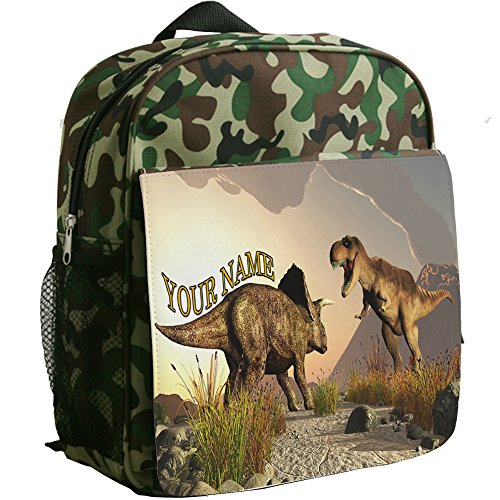 personalised-t-rex-dinosaur-sh253-camouflage-childrens-backpack-kids-rucksack-childs-toddler-boys-nu