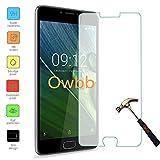 Owbb film protecteur d'écran en verre trempé pour Acer Liquid Z6 Plus (5.5 pouce) Smartphone Film anti-déflagrant
