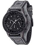 DETOMASO Herren-Armbanduhr Chronograph Quarz DT1073-C