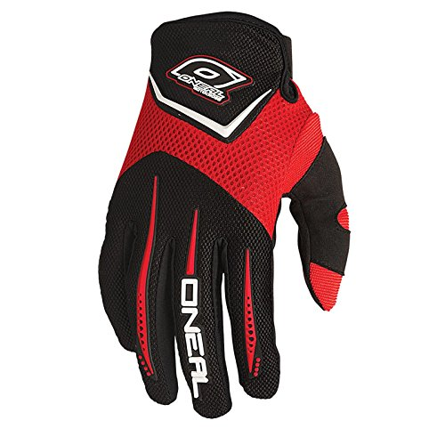 O'Neal Element MX DH Handschuhe Rot Moto Cross Mountain Bike Downhill Motorrad Glove, 0399-3, Größe X-Large (Off-road-mountain-bike)