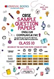 #8: Oswaal CBSE Sample Question Paper Class 10 English Communicative (For March 2019 Exam)