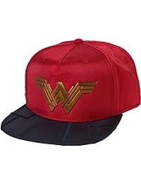 DC Comics Wonder Woman Chrome Weld Snapback Baseball Cap