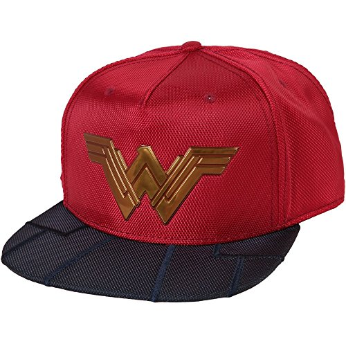 DC Comics Wonder Woman Chrome Weld Snapback Gorra De Béisbol