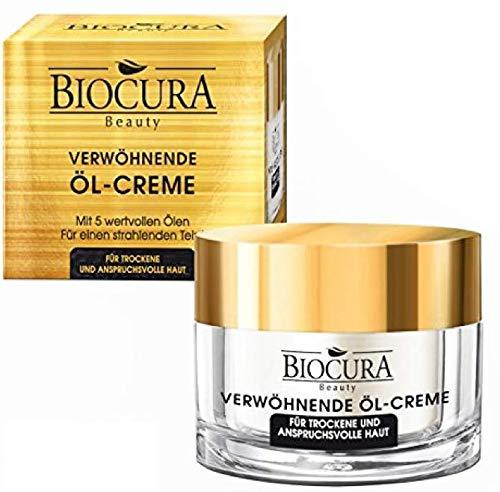 BIOCURA Beauty verwöhnende Öl Creme/Öl 50ml für Trockene/Reife Haut -