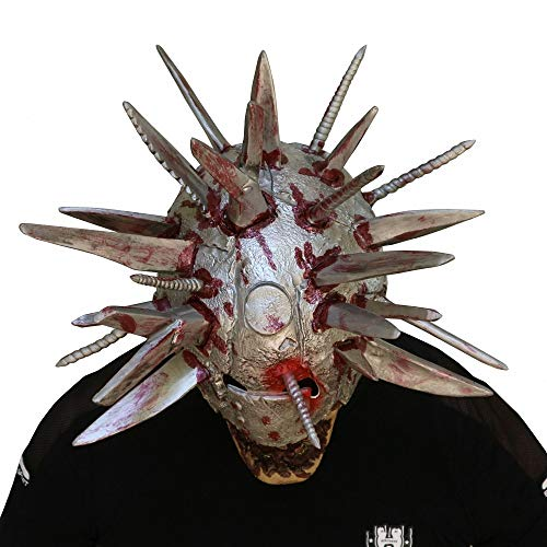 Halloween Horror Blade Man Maske Schädel Gesicht Maske Karneval Maske Scary Clown Maske Fasching Vollmaske Scream Horror Maske Creepy Scary Maske Halloween Cosplay Kostüm Requisiten