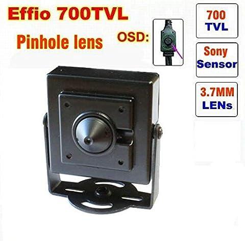 BW® SFP17 700TVL Sony CCD Effio-E Indoor Mini Security Camera