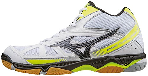 Mizuno Herren Wave Hurricane Mid Volleyballschuhe, Bianco