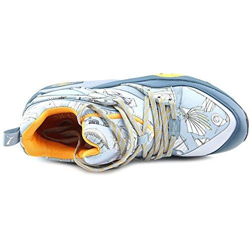 Puma Blaze of Glory X Swash OS Hommes Toile Baskets Indian Teal-Orange