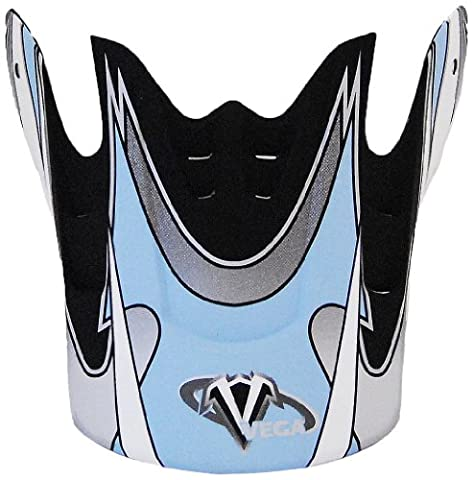 Vega Graphic Replacement Visor for Mojave Jr. Off-Road Helmet (Light