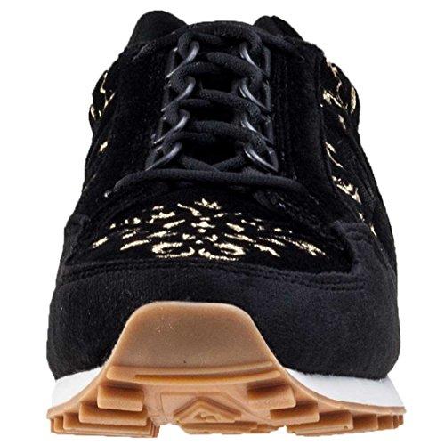 Le Coq Sportif Eclat W Embroidery Hommes Baskets Black Gold