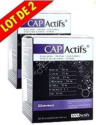 SYNActifs - CAPActifs Cheveux SYNActifs - Complément alimentaire - Lot de 2 x 120 Gélules