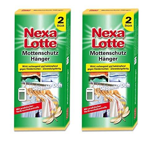 Oleanderhof Sparset: 2 x SCOTTS Nexa Lotte® Mottenschutz-Hänger, 2 Stück + gratis Oleanderhof Flyer