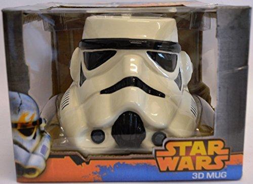 Star Wars Stormtrooper 3D Tasse (Weiß)