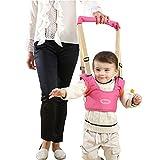 Bébé Enfant Harnais de Securite Aider Apprendre A Marcher Sécurité Ceinture Handheld Baby Walker