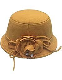 JTC Enfant Fille Chapeau Floral D hiver Unicolore En Paramatta Mignon 215b0799658