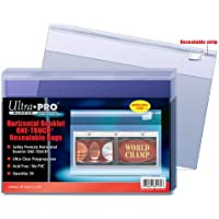 50 Ultra Pro Horizontal Booklet One-Touch Resealable Bags - Strip Clear Klar - 84170