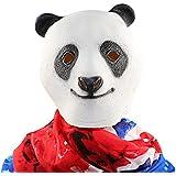 XIAO MO GU látex Halloween Decoración de disfraces para adultos y niños Animal cabeza máscara gato PANDA