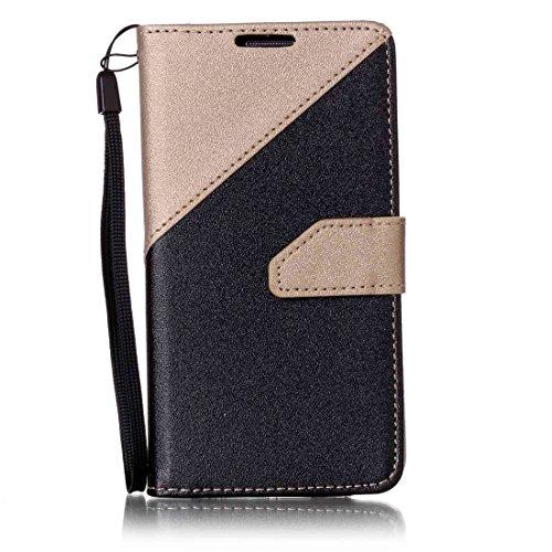 Nancen Compatible with Handyhülle Galaxy S4 / I9500 (5 Zoll) Hülle PU Leder Tasche Schutzhülle Flip Case Wallet für, Magnetverschluss Standfunktion Brieftasche und Karten Slot