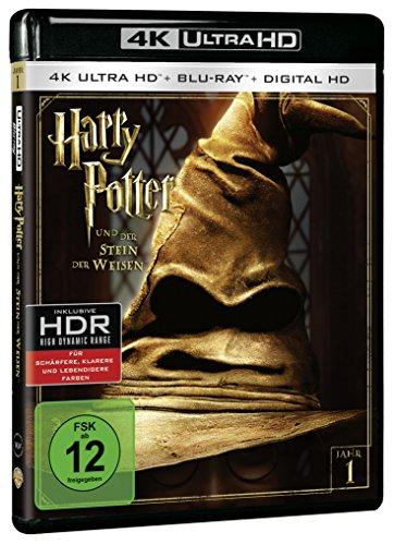 Harry Potter und der Stein der Weisen – Ultra HD Blu-ray [4k + Blu-ray Disc] - 2