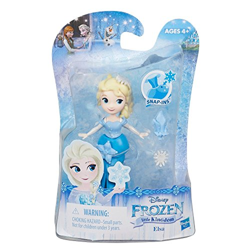 Hasbro 030012 Disney Frozen Little Kingdom Mini Puppe - Elsa