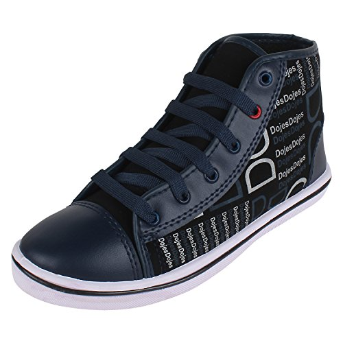 Bersache Men's Blue Canvas Sneakers Shoes (Casual Shoes) (7 UK)  available at amazon for Rs.198
