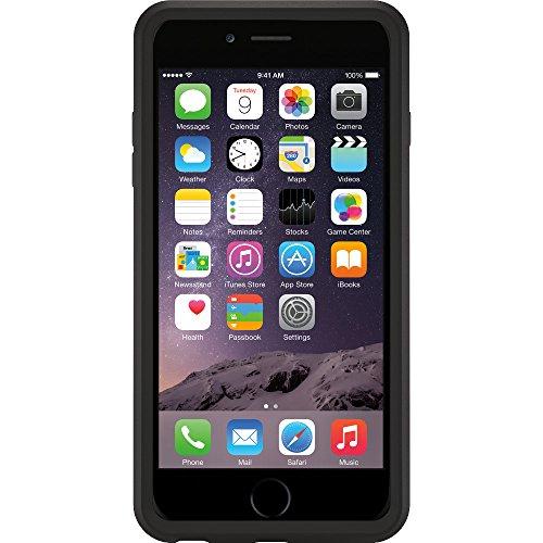 OtterBox Symmetry sturzsichere Schutzhülle für Apple iPhone 6 plus / 6s plus, Schwarz schwarz
