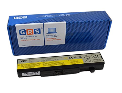 GRS Notebook Akku für LENOVO G580, G585, G480, Y480, Y485, Y580 IdeaPad Z380, Z480 Z580, Z585, Y580, G400, G500 ersetzt: L11L6F01, L11M6Y01, L11P6R01, L11L6R01, L11N6R01, L11S6F01, L11L6Y01, L11N6Y01, L11S6Y01 Laptop Batterie 4400mAh,11,1V