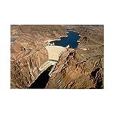 CafePress–Hoover Dam, WasserKRAFT COLORAD–Rechteck Magnet, 5,1x 7,6cm Kühlschrank Magnet