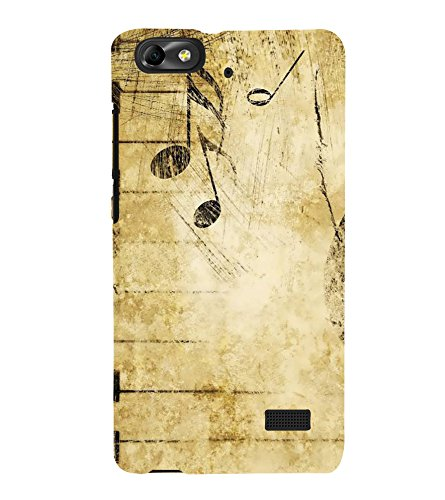 Fiobs Designer Back Case Cover for Huawei Honor 4C :: Huawei G Play Mini (Piano Keys Keyboard Casio Black White)  available at amazon for Rs.328