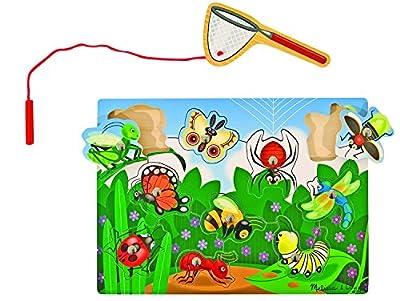 Melissa & Doug - 13779 - Jeu Magnétique En Bois Chasse Aux Insectes