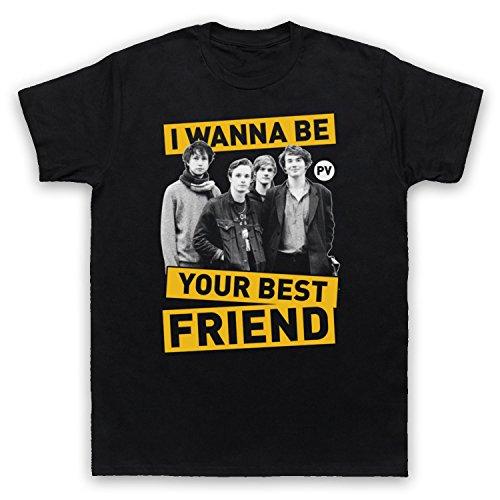 Inspiriert durch Palma Violets Best Of Friends Unofficial Herren T-Shirt Schwarz