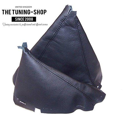 The Tuning-Shop Ltd Gear & Hi-Low Gaiter schwarz Echtleder (Schaltknauf Ranger)