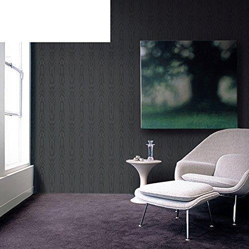 Einfache Vliestapete/dunkle graue Tapete/Baum Muster Hintergrund-Tapeten/Holz Tapete/wallpaper-C (Dunkles Holz Wallpaper)