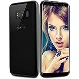 Coque Galaxy S8 plus, Infreecs Housse Silicone Flexible gel TPU Bumper [Absorption de Choc] Résistant aux rayures Très Légère Coque pour Samsung Galaxy S8 plus - Noir Brillant
