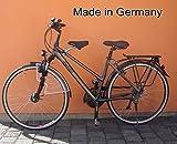 BISOMO Fahrrad Kindersitz - DDR Zeiten (Damen No.2 - Ø 35-50 mm, Schwarzer Sattel)