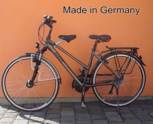 BISOMO Fahrrad Kindersitz - DDR Zeiten (Damen No.3 - Ø 50-70 mm, Schwarzer Sattel)