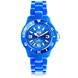 Ice-Watch - ICE solid Blue - Montre bleue mixte avec bracelet en plastique - 000614 (Small)