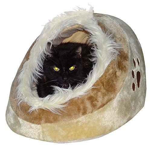 Hossi's Wholesale Lavable flau schi gato cueva Animales cama con base de manta para mascotas perro, gato, incluye gato Angel
