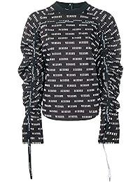 Versus Versace Blusa Donna BD20190BT10748B7008 Cotone Nero 9817029b057