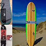 Hot Surf 69 8ft Soft Surfboard Package Deal