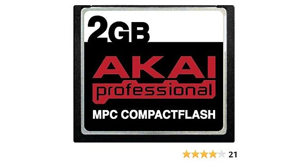 Akai 2gb Mpc Compactflash Cf Speicherkarte Für Mpc500 Mpc1000 Mpc2500 Mpc4000 Computer Zubehör