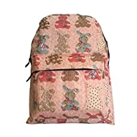 ♥ Summer Sale ♥ Super Lightweight Backpacks - Bunny Print Shower-Proof Material. Ideal for Children