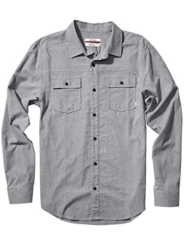 Herren Hemd lang Nixon Point Hemd Gray